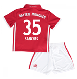 Mini conjunto Bayern de Munich 2016-2017 Home (Sanches 35)