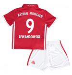 Mini conjunto Bayern de Munich 2016-2017 Home (Lewandowski 9)