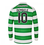 Camiseta Manga Larga Celtic 2016-2017 Home (Dembele 10)