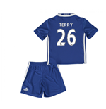 Mini conjunto Chelsea 2016-2017 Home (Terry 26)