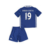Mini conjunto Chelsea 2016-2017 Home (Diego Costa 19)