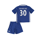 Mini conjunto Chelsea 2016-2017 Home (David Luiz 30)