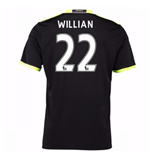 Camiseta Chelsea 2016-2017 Away (Willian 22) de niño