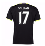 Camiseta Chelsea 2016-2017 Away (Willian 17) de niño