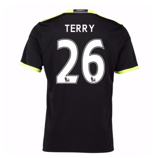 Camiseta Chelsea 2016-2017 Away (Terry 26) de niño