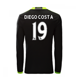 Camiseta Chelsea 2016-2017 Away (Diego Costa 19)