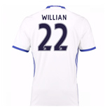 Camiseta Chelsea 2016-2017 Third (Willian 22) de niño