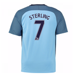 Camiseta Manchester City FC 2016-2017 Home (Sterling 7)