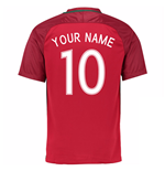 Camiseta Portugal Fútbol 2016-2017 Home