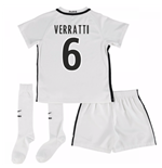 Mini conjunto Paris Saint-Germain 2016-2017 Third (Verratti 6)