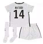 Mini conjunto Paris Saint-Germain 2016-2017 Third (Matuidi 14)