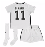 Mini conjunto Paris Saint-Germain 2016-2017 Third (Di Maria 11)