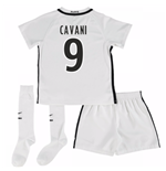 Mini conjunto Paris Saint-Germain 2016-2017 Third (Cavani 9)