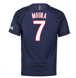 Camiseta Paris Saint-Germain 2016-2017 Home (Moura 7)