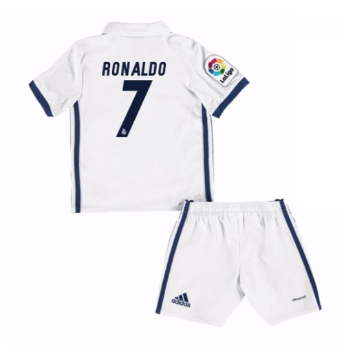 Compra Mini conjunto Real Madrid Home 2016 17 de niño (Ronaldo 7) 2de18ce87d275