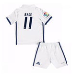 Mini conjunto Real Madrid Home 2016/17 de niño (Bale 11)