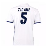 Camiseta Real Madrid Home 2016/17 (Zidane 5) de niño