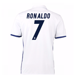 Camiseta Real Madrid Home 2016/17 (Ronaldo 7) de niño