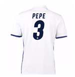 Camiseta Real Madrid Home 2016/17 (Pepe 3) de niño