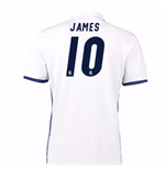 Camiseta Real Madrid Home 2016/17 (James 10) de niño