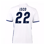 Camiseta Real Madrid Home 2016/17 (Isco 22)  de niño
