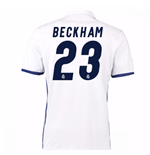 Camiseta Real Madrid Home 2016/17 (Beckham 23)