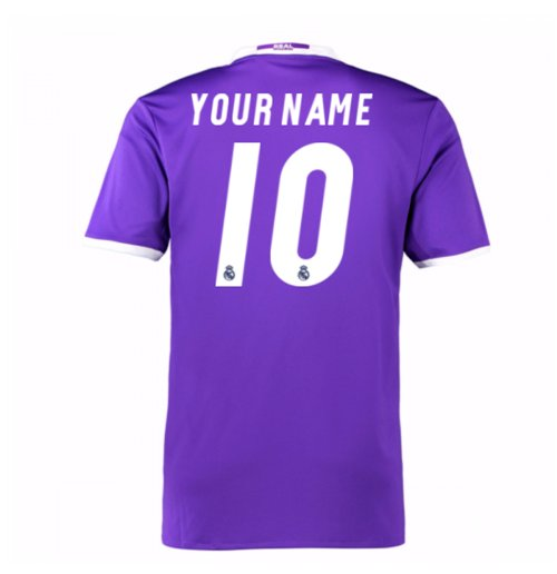 Camiseta Real Madrid Away 2016/17 Personalizable de niño