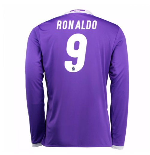 Camiseta Real Madrid Away 2016/17 (Ronaldo 9) de niño