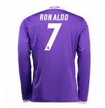 Camiseta Real Madrid Away 2016/17 (Ronaldo 7) de niño