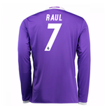 Camiseta Real Madrid Away 2016/17 (Raul 7) de niño