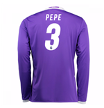 Camiseta Real Madrid Away 2016/17 (Pepe 3) de niño