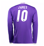 Camiseta Real Madrid Away 2016/17 (James 10) de niño
