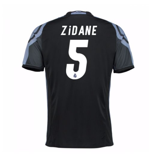 Camiseta Real Madrid Third 2016/17 (Zidane 5) de niño