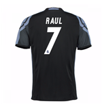 Camiseta Real Madrid Third 2016/17 (Raul 7) de niño