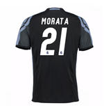 Camiseta Real Madrid Third 2016/17 (Morata 21) de niño