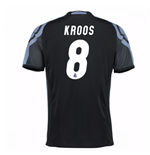 Camiseta Real Madrid Third 2016/17 (Kroos 8) de niño