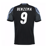 Camiseta Real Madrid Third 2016/17 (Benzema 9)