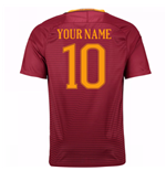 Camiseta  AS Roma Home 2016/17 Personalizable
