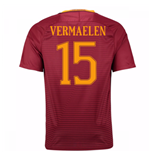 Camiseta  AS Roma Home 2016/17 (Vermaelen 15)