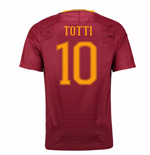 Camiseta  AS Roma Home 2016/17 (Totti 10) de niño