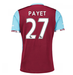Camiseta West Ham United 2016-2017 Home