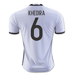 Camiseta Alemania Home 2016/17 (Khedira 6)