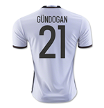 Camiseta Alemania Home 2016/17 (Gundogan 21)
