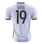 Camiseta Alemania Home 2016/17 (Gotze 19)