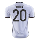 Camiseta Alemania Home 2016/17 (Boateng 20)