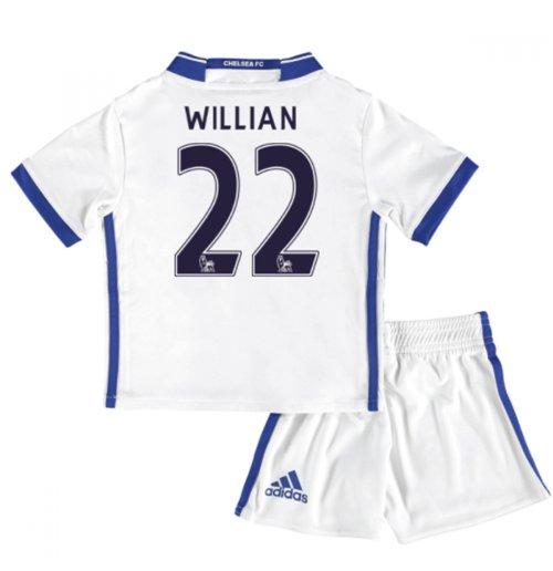 Compra Mini conjunto Chelsea Third 2016 17 (Willian 22) Original 8a37b7a62bb73