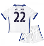 Mini conjunto Chelsea Third 2016/17 (Willian 22)