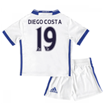 Mini conjunto Chelsea Third 2016/17 (Diego Costa 19)