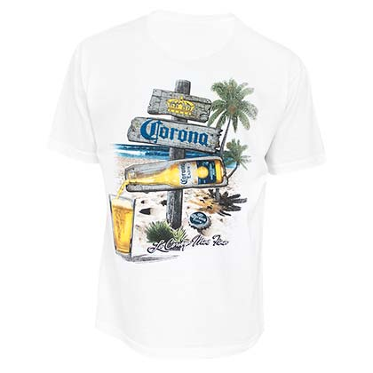 Camiseta Coronita Beach Sign