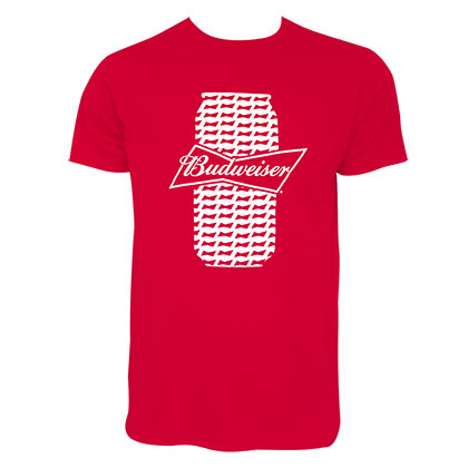 Camiseta Budweiser Beer Can
